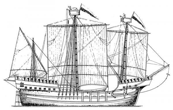 Cocca anseatica gruppo di cultura navale for Piani di fattoria del 19 secolo
