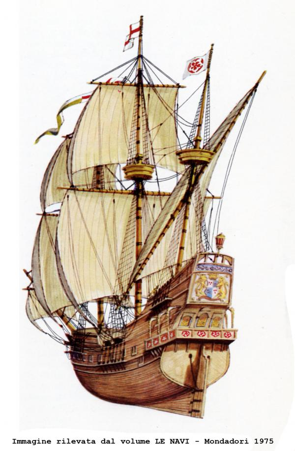 GOLDEN HIND - galeone