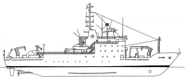 ALLIANCE - nave oceanografica