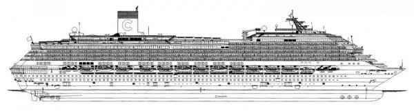 Costa Concordia Nave Da Crociera Gruppo Di Cultura Navale