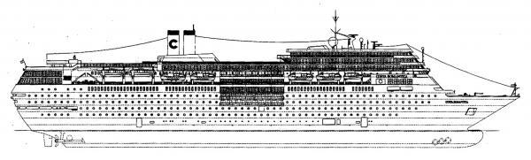 Costa neoromantica nave da crociera gruppo di cultura for Piano nave costa fascinosa