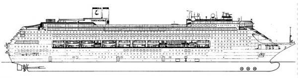 Costa victoria nave da crociera gruppo di cultura navale for Costa pacifica piano nave