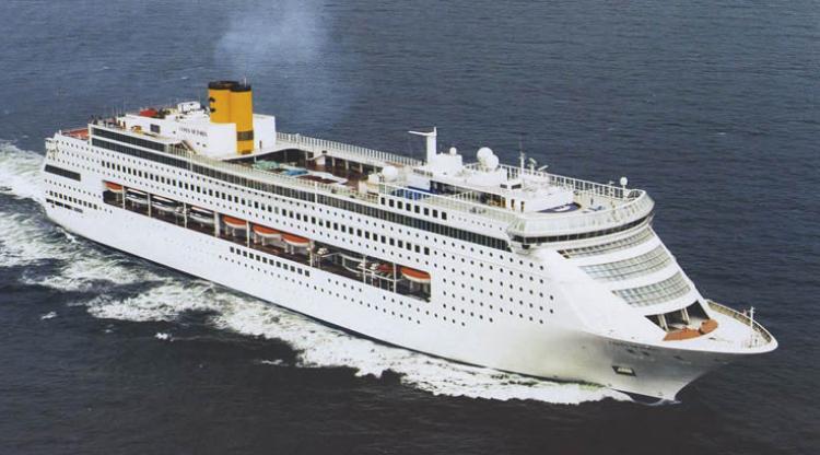 Costa victoria nave da crociera gruppo di cultura navale for Costa neoriviera piano nave